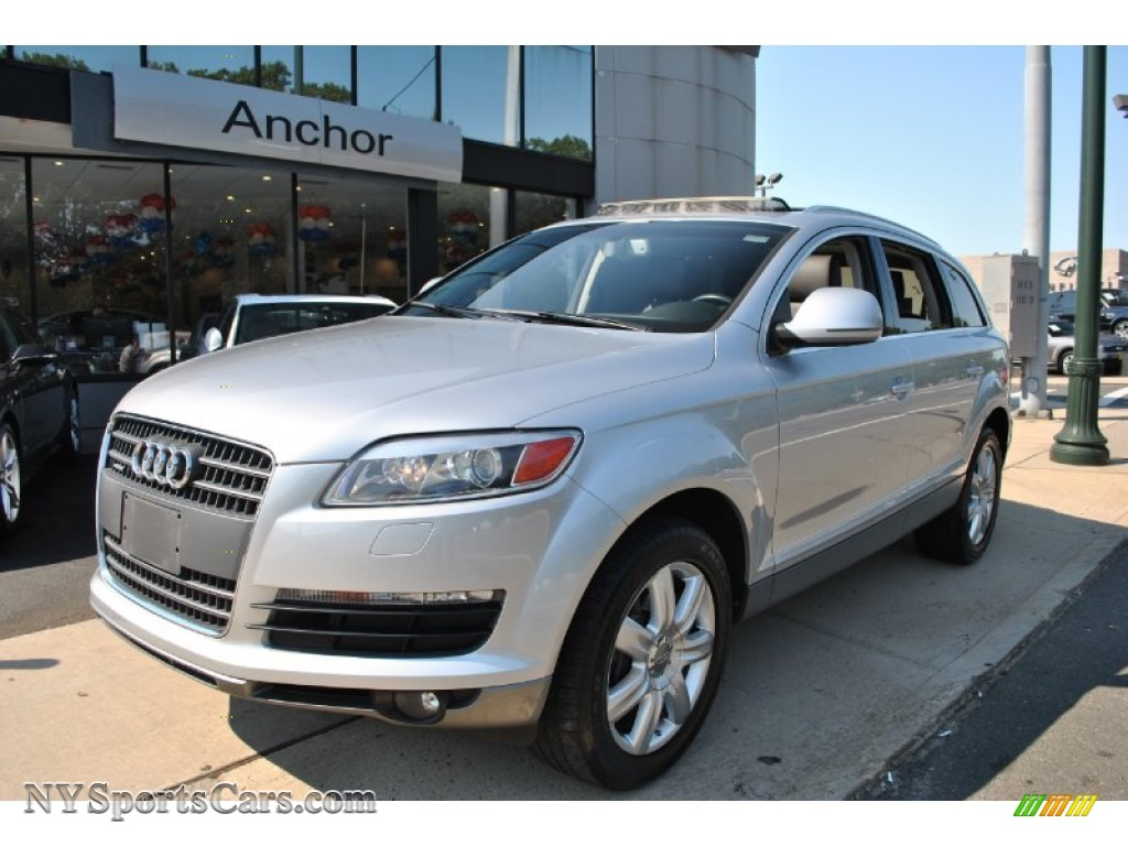2007 audi q7 4 2 premium quattro in light silver metallic 014610 cars for. Black Bedroom Furniture Sets. Home Design Ideas
