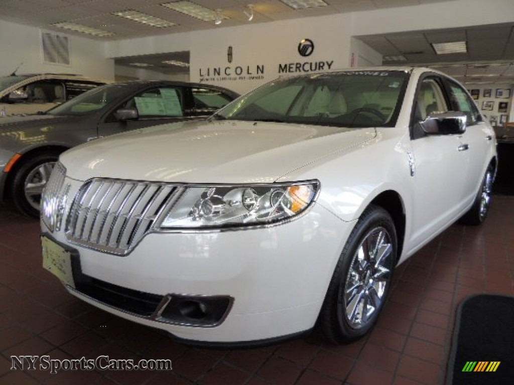 2010 lincoln mkz awd in white platinum tri coat 624714 cars for sale in. Black Bedroom Furniture Sets. Home Design Ideas