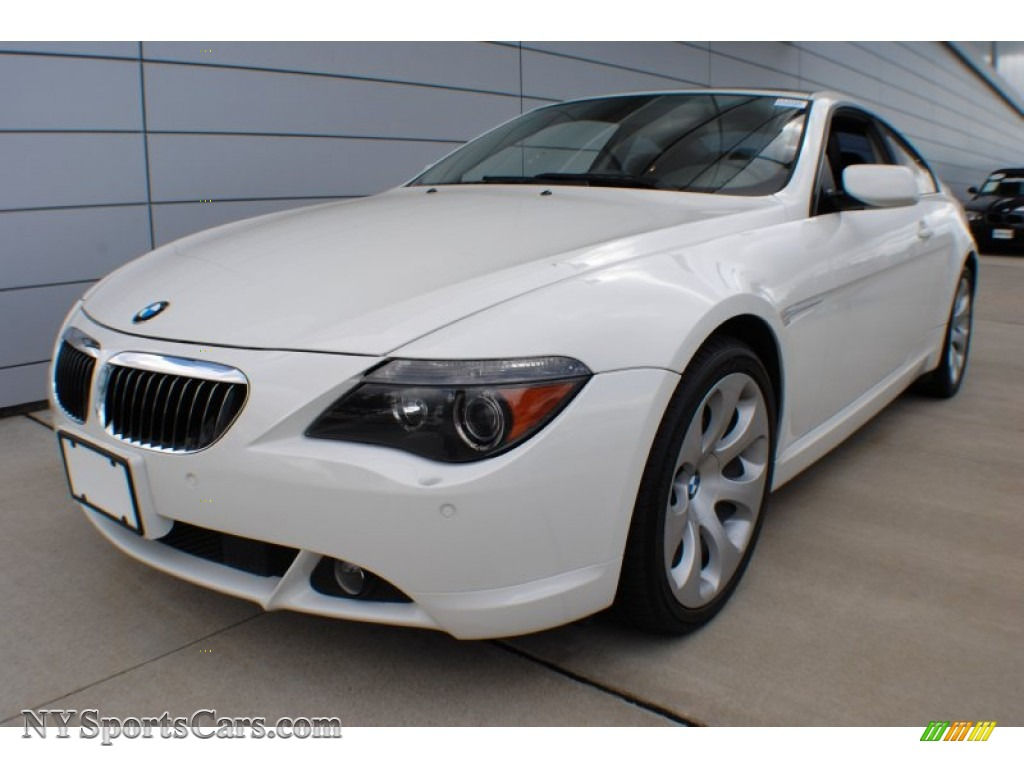 2005 bmw 6 series 645i coupe in alpine white f95166 cars for sale in new york. Black Bedroom Furniture Sets. Home Design Ideas