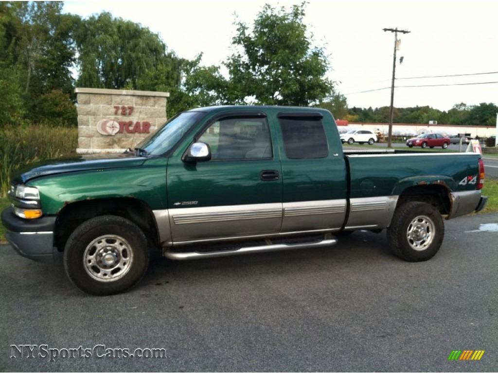 2000 chevrolet silverado 2500 ls extended cab 4x4 in meadow green metallic photo 11 170165. Black Bedroom Furniture Sets. Home Design Ideas
