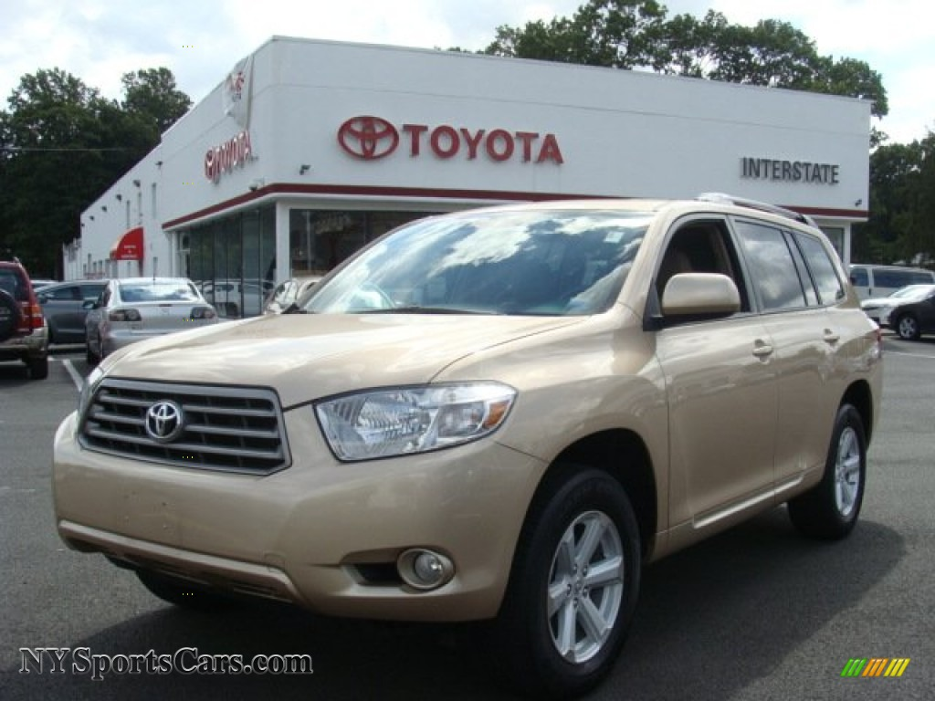 2010 toyota highlander se 4wd in sandy beach metallic. Black Bedroom Furniture Sets. Home Design Ideas