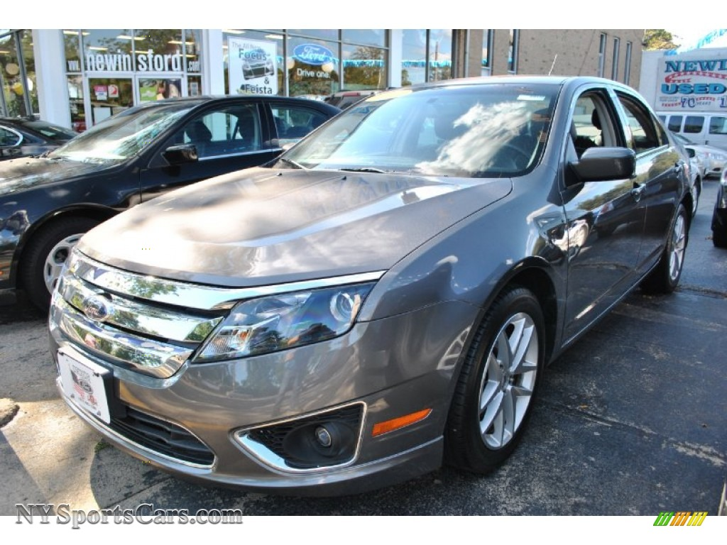 Sterling grey metallic charcoal black ford fusion sel