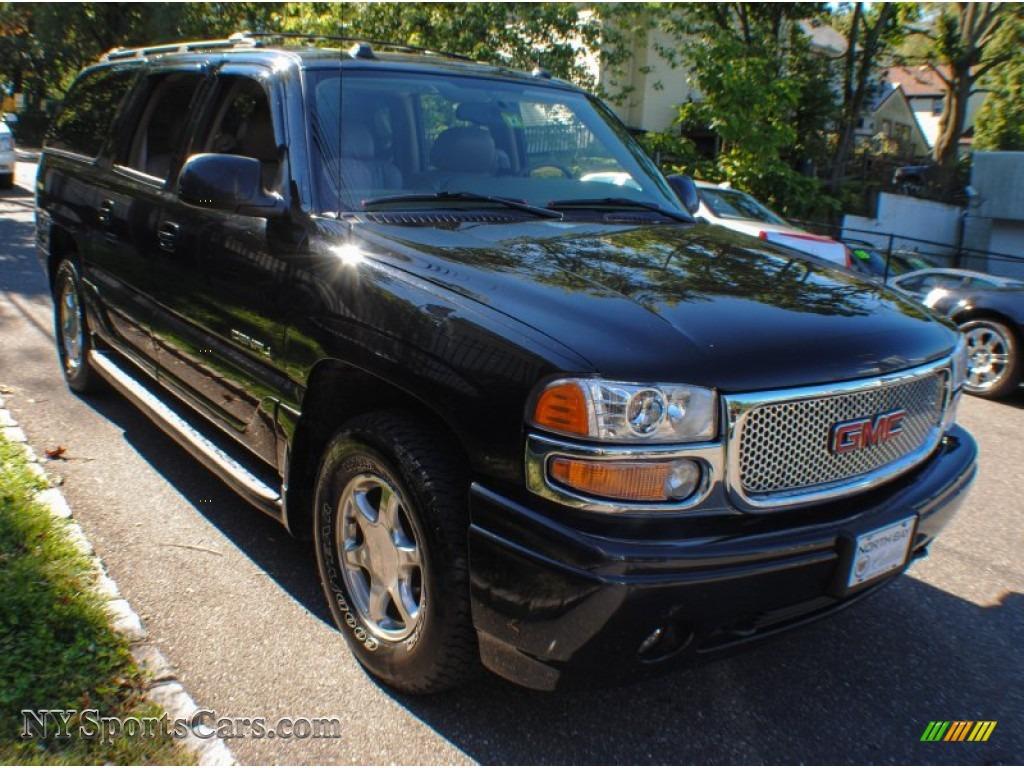 2004 gmc yukon xl denali awd in onyx black photo 7 326485 cars for sale. Black Bedroom Furniture Sets. Home Design Ideas