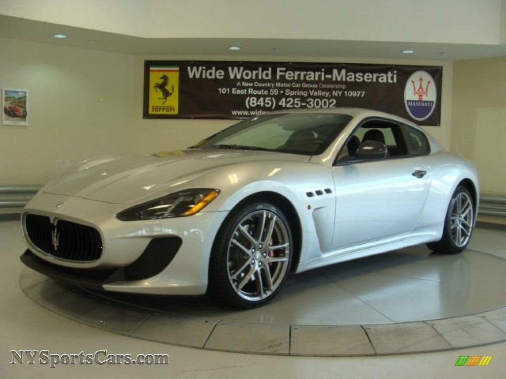 2013 Maserati Granturismo Mc Coupe In Grigio Touring