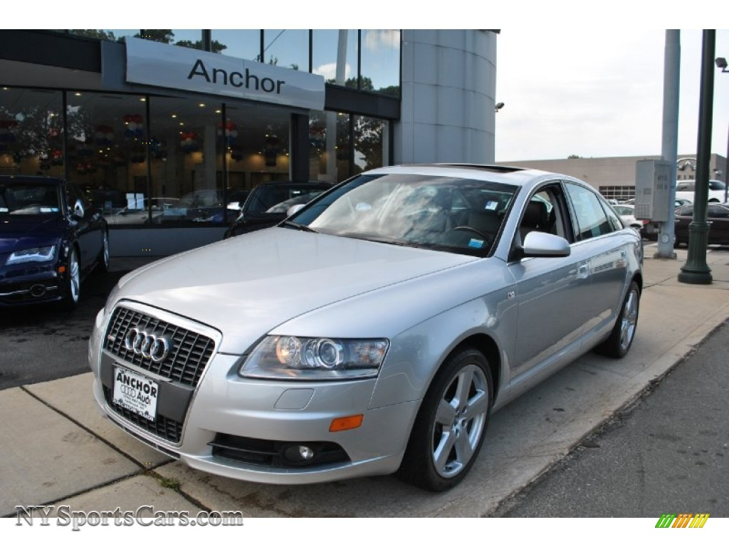 2008 audi a6 3 2 quattro sedan in light silver metallic 030804 cars for. Black Bedroom Furniture Sets. Home Design Ideas