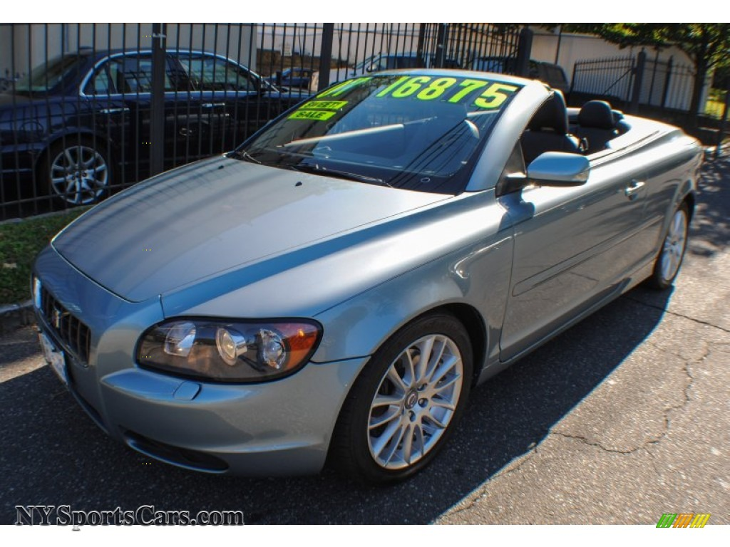 2007 volvo c70 t5 convertible in celestial blue metallic. Black Bedroom Furniture Sets. Home Design Ideas