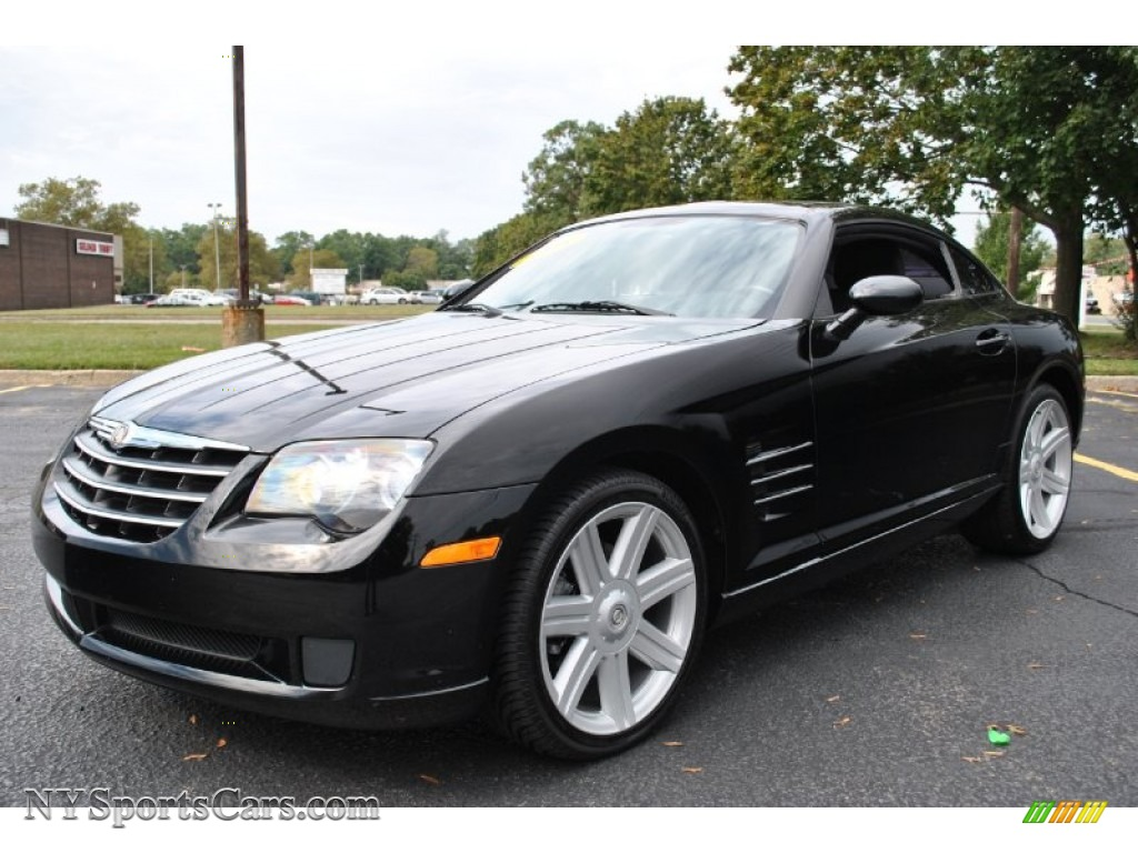 2005 chrysler crossfire coupe in black 033119 cars for sale in new york. Black Bedroom Furniture Sets. Home Design Ideas