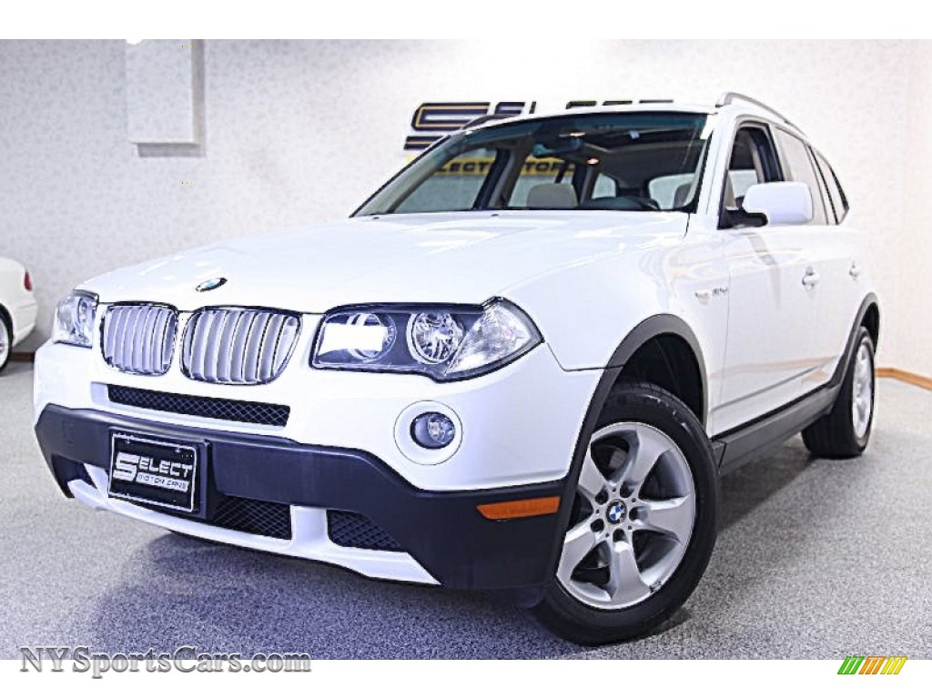 2007 bmw x3 in alpine white f13336 nysportscars. Black Bedroom Furniture Sets. Home Design Ideas