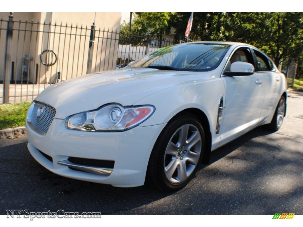 Northern Neck Chevrolet >> 2009 Jaguar XF Luxury in Porcelain White - R08369 | NYSportsCars.com - Cars for sale in New York