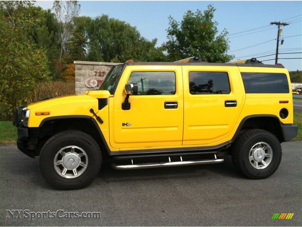 2003 Hummer H2 SUV in Yellow - 127091 | NYSportsCars.com - Cars for