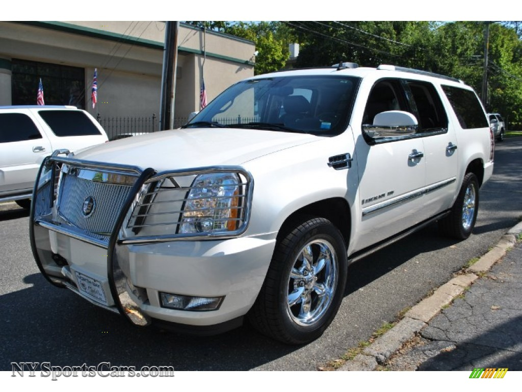 2007 cadillac escalade esv awd in white diamond 334460 cars for sale in. Black Bedroom Furniture Sets. Home Design Ideas