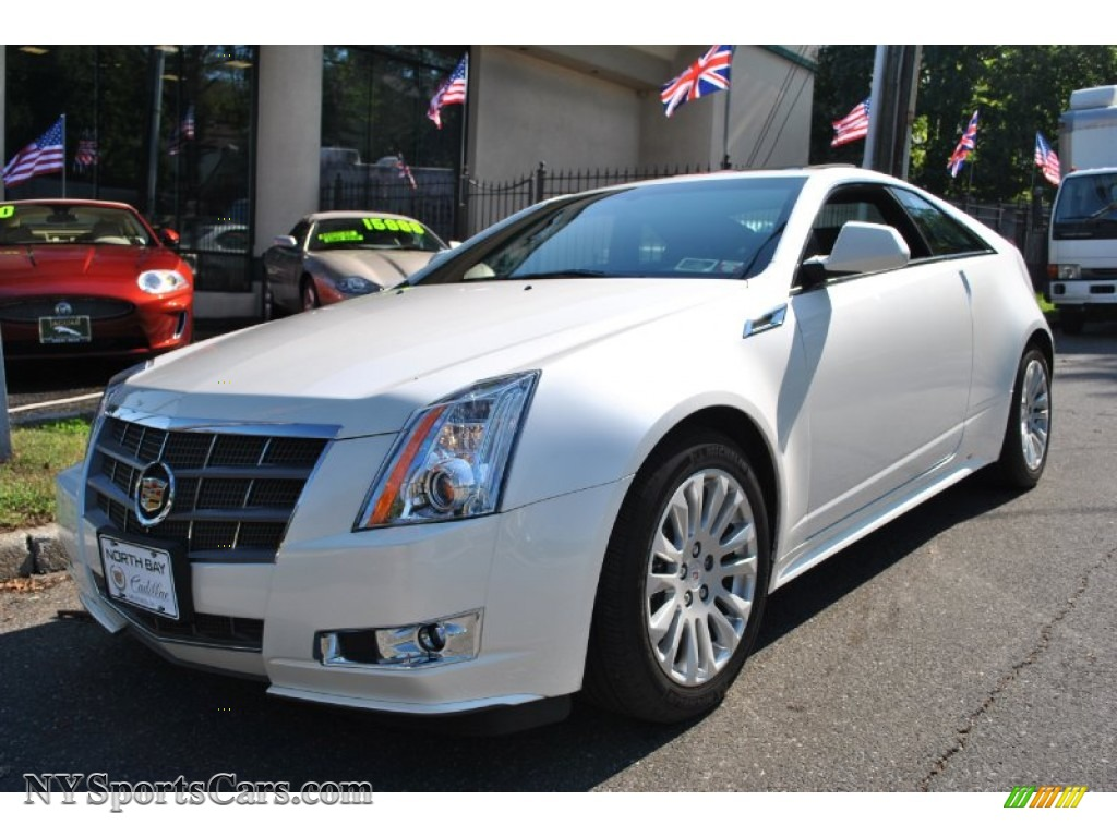 2011 cadillac cts 4 awd coupe in white diamond tricoat 119343 cars for. Black Bedroom Furniture Sets. Home Design Ideas