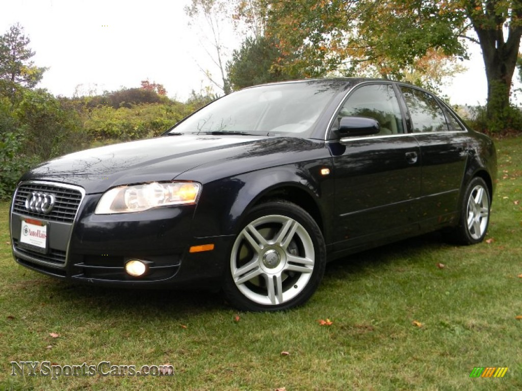 2007 audi a4 2.0t quattro sedan in deep sea blue pearl effect