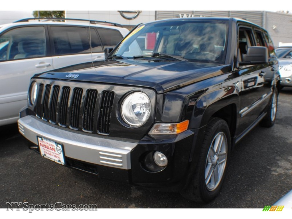 2010 jeep patriot limited in brilliant black crystal pearl