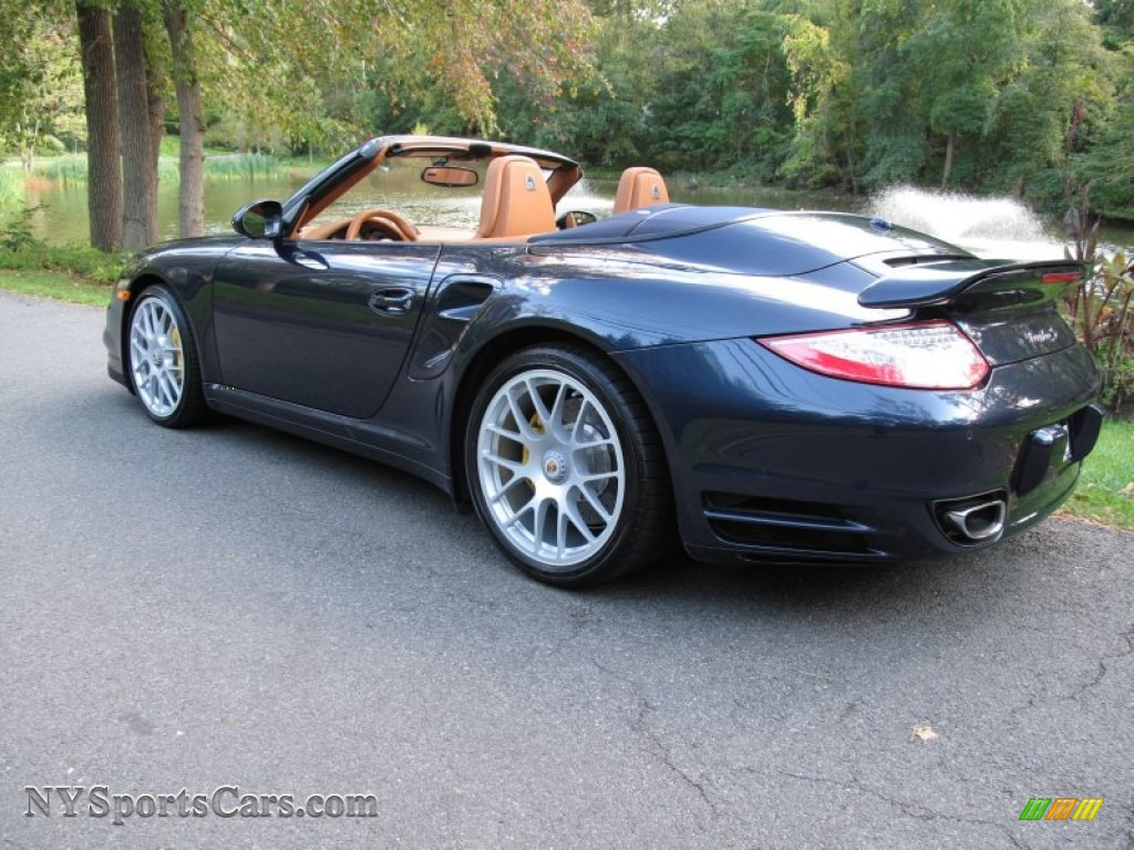 2011 porsche 911 turbo s cabriolet in dark blue metallic photo 10 773668. Black Bedroom Furniture Sets. Home Design Ideas