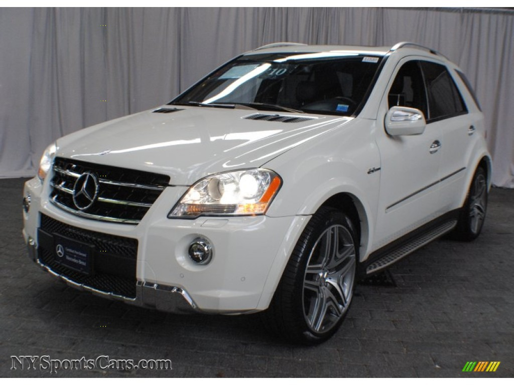 2010 mercedes benz ml 63 amg 4matic in arctic white photo for Mercedes benz northern blvd