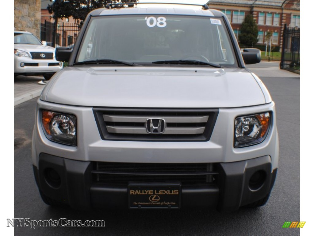 2008 honda element ex awd in alabaster silver metallic photo 2 018521. Black Bedroom Furniture Sets. Home Design Ideas