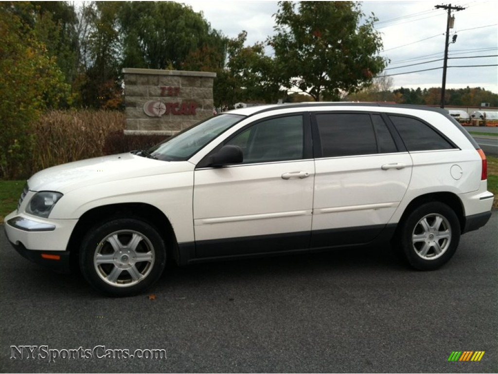 2006 Chrysler Pacifica Touring In Stone White 763691 Nysportscars Com Cars For Sale In New
