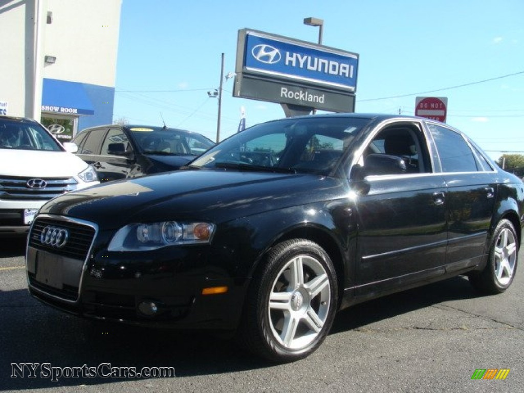 2006 audi a4 2 0t quattro sedan in brilliant black 209747 cars for sale. Black Bedroom Furniture Sets. Home Design Ideas