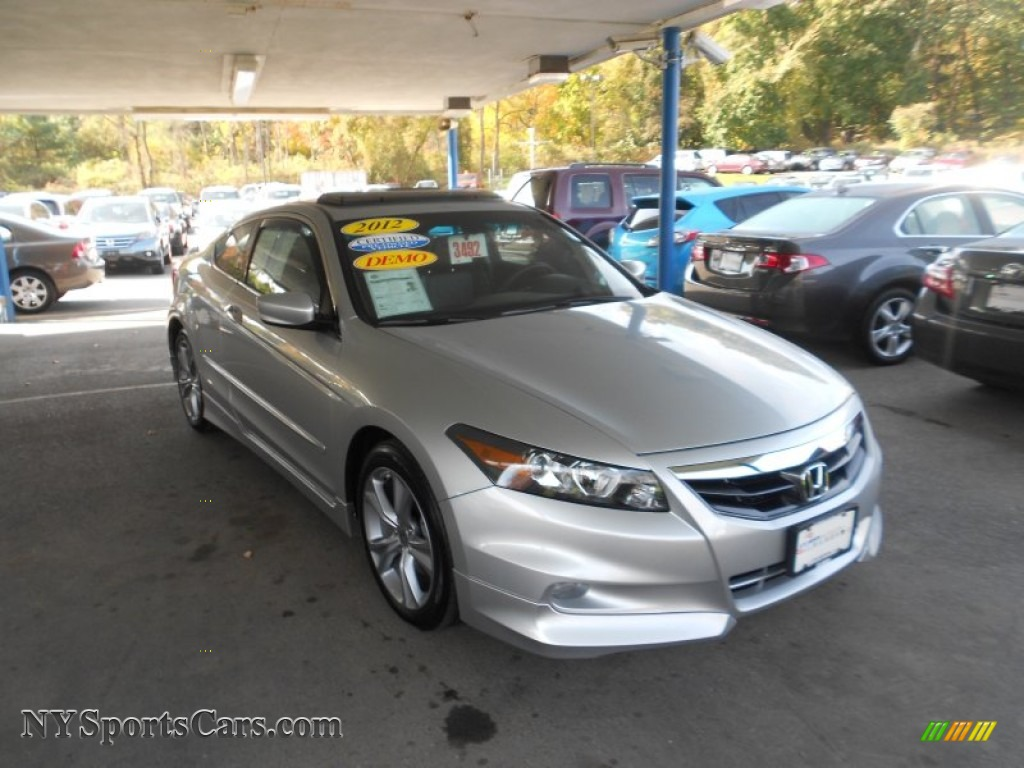 2012 honda accord ex l v6 coupe in alabaster silver metallic 007047 cars. Black Bedroom Furniture Sets. Home Design Ideas