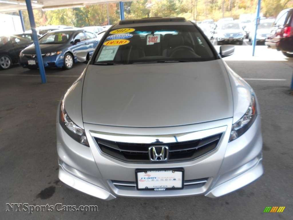 2012 honda accord ex l v6 coupe in alabaster silver metallic photo 3 007047 nysportscars. Black Bedroom Furniture Sets. Home Design Ideas