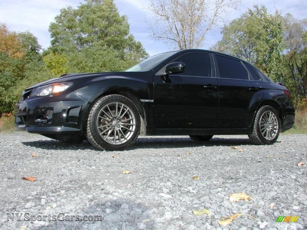 2011 subaru impreza wrx sedan in obsidian black pearl 506341 obsidian black pearl carbon black subaru impreza wrx sedan vanachro Choice Image
