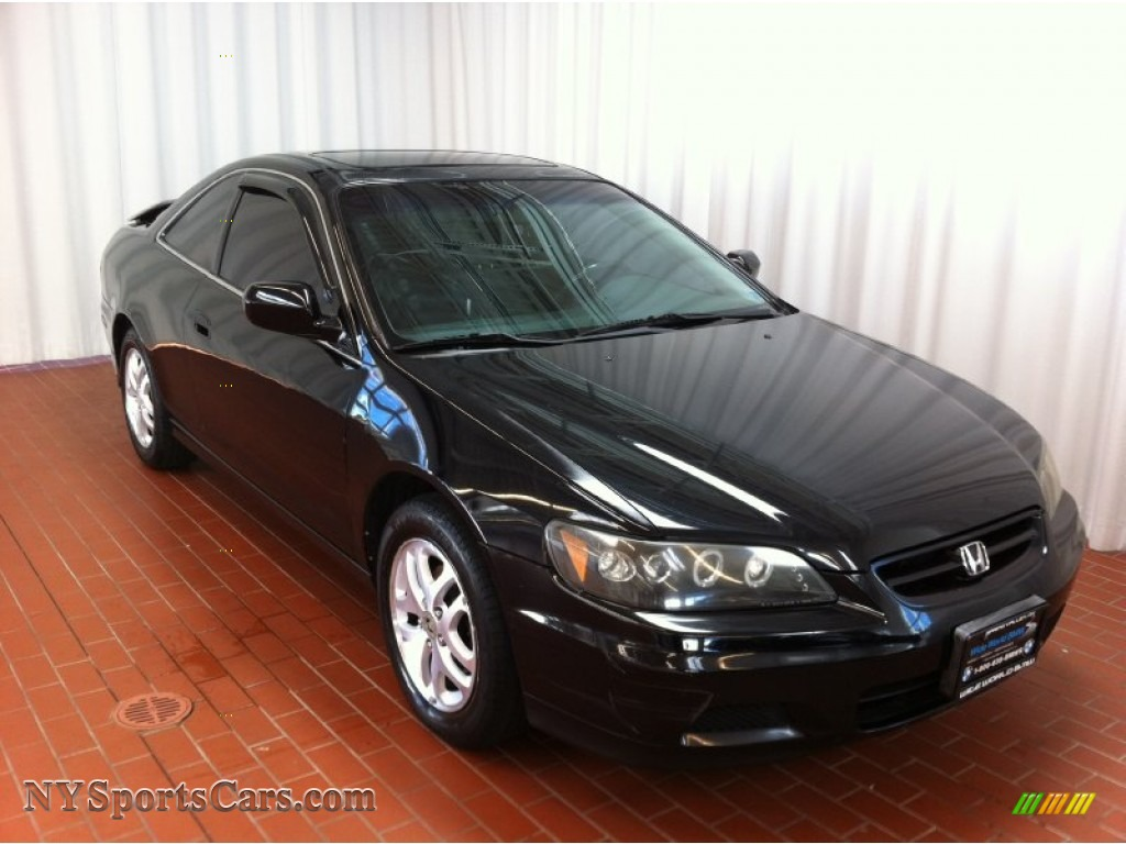 2002 honda accord ex v6 coupe in nighthawk black pearl 003819 cars for. Black Bedroom Furniture Sets. Home Design Ideas