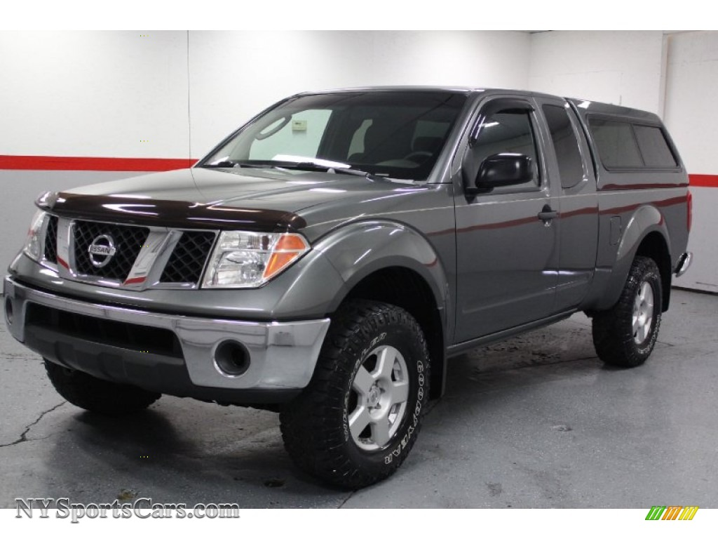 2005 nissan frontier se king cab 4x4 in storm gray. Black Bedroom Furniture Sets. Home Design Ideas