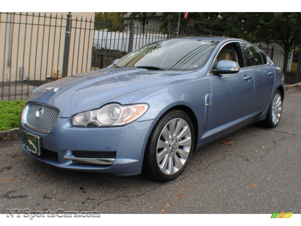 2009 jaguar xf premium luxury in azure blue metallic. Black Bedroom Furniture Sets. Home Design Ideas