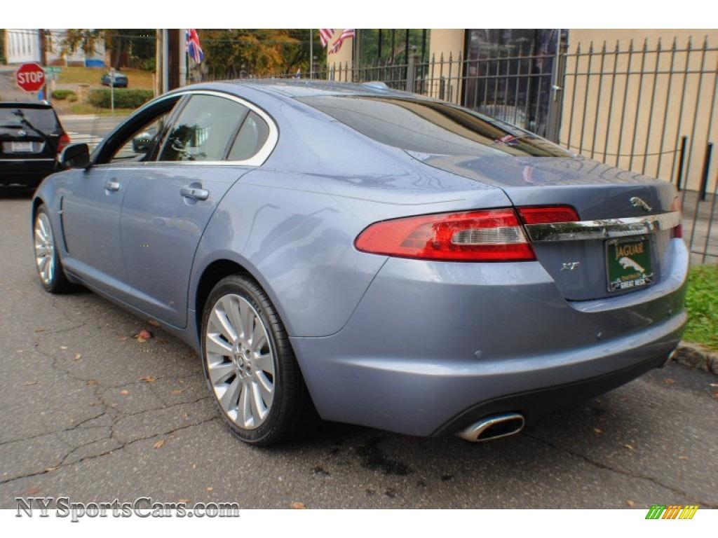 2009 Jaguar XF Premium Luxury in Azure Blue Metallic photo ...