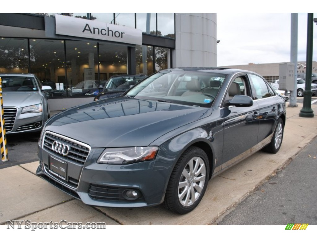 2010 Audi A4 2 0t Quattro Sedan In Meteor Gray Pearl