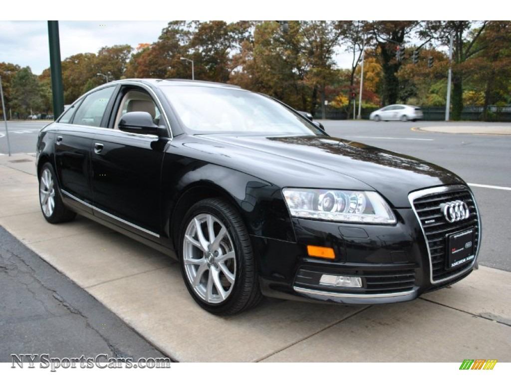 2009 audi a6 3 0t quattro sedan in brilliant black photo 7 025262 cars. Black Bedroom Furniture Sets. Home Design Ideas