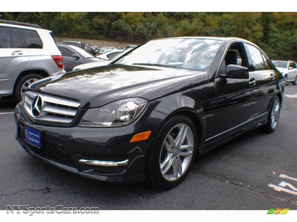 2012 Mercedes Benz C 300 Sport 4matic In Magnetite Black Metallic New Honda Gold Wing Gl1100 Wiring Diagram Electrical Photo 1
