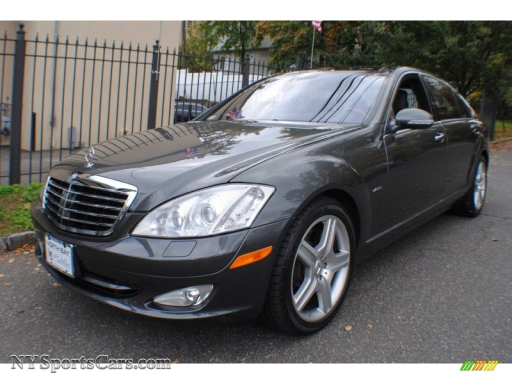 2007 mercedes benz s 600 sedan in designo graphite. Black Bedroom Furniture Sets. Home Design Ideas