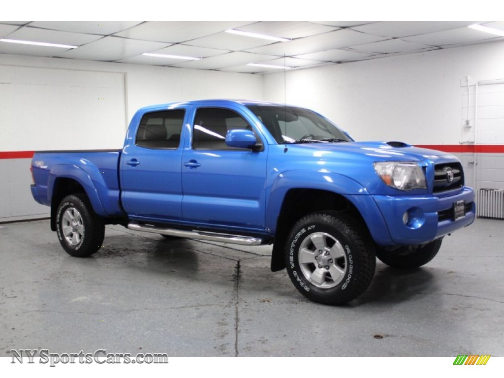 2006 Toyota Tacoma V6 TRD Sport Double Cab 4x4 in Speedway Blue ...