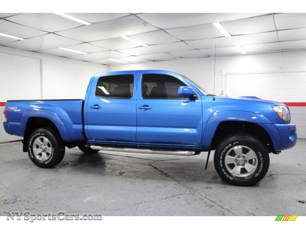 2006 toyota tacoma v6 trd sport double cab 4x4 in speedway blue photo 14 242623. Black Bedroom Furniture Sets. Home Design Ideas
