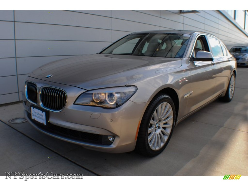 Cashmere Silver Metallic Oyster Black BMW 7 Series 750Li XDrive Sedan