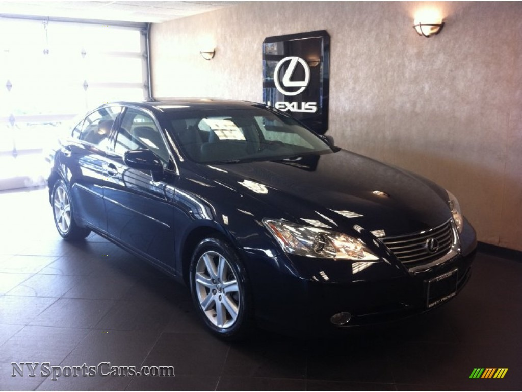 2009 lexus es 350 in black sapphire pearl 298933 cars for sale in new york. Black Bedroom Furniture Sets. Home Design Ideas