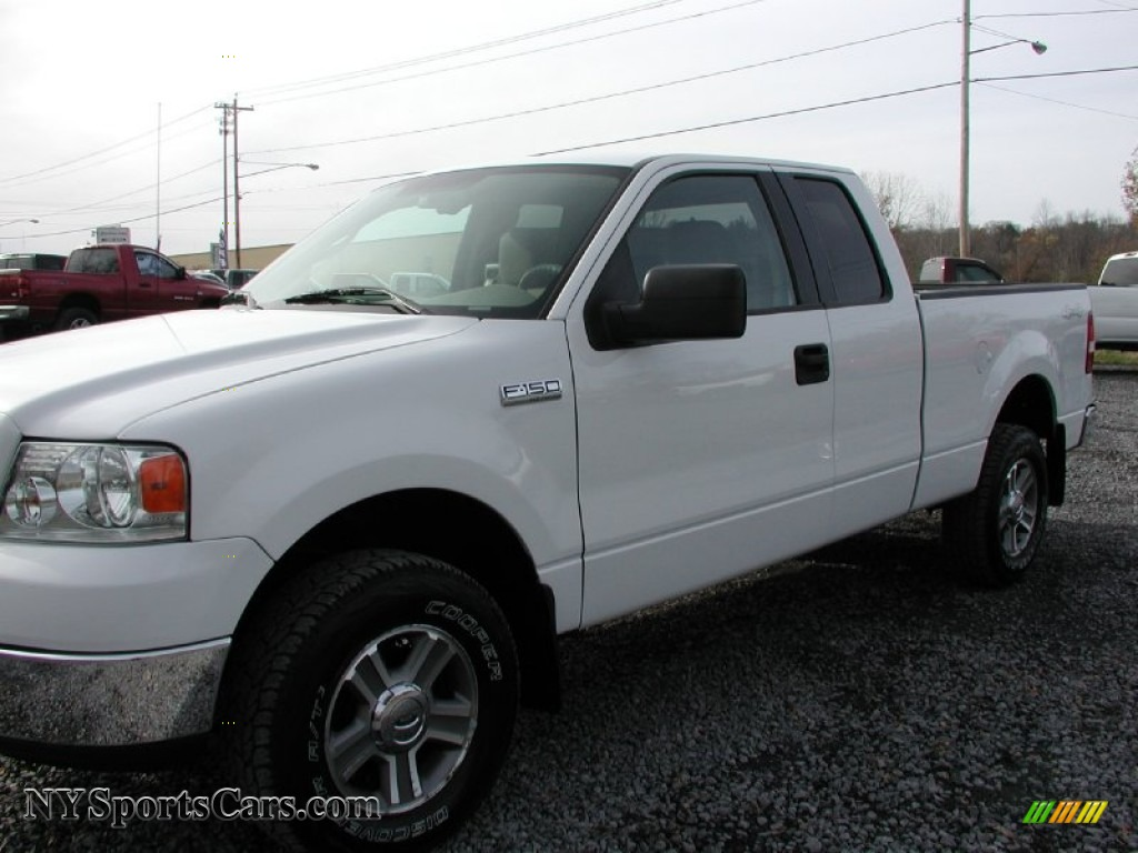 2005 ford f150 xlt supercab 4x4 in oxford white photo 24. Black Bedroom Furniture Sets. Home Design Ideas
