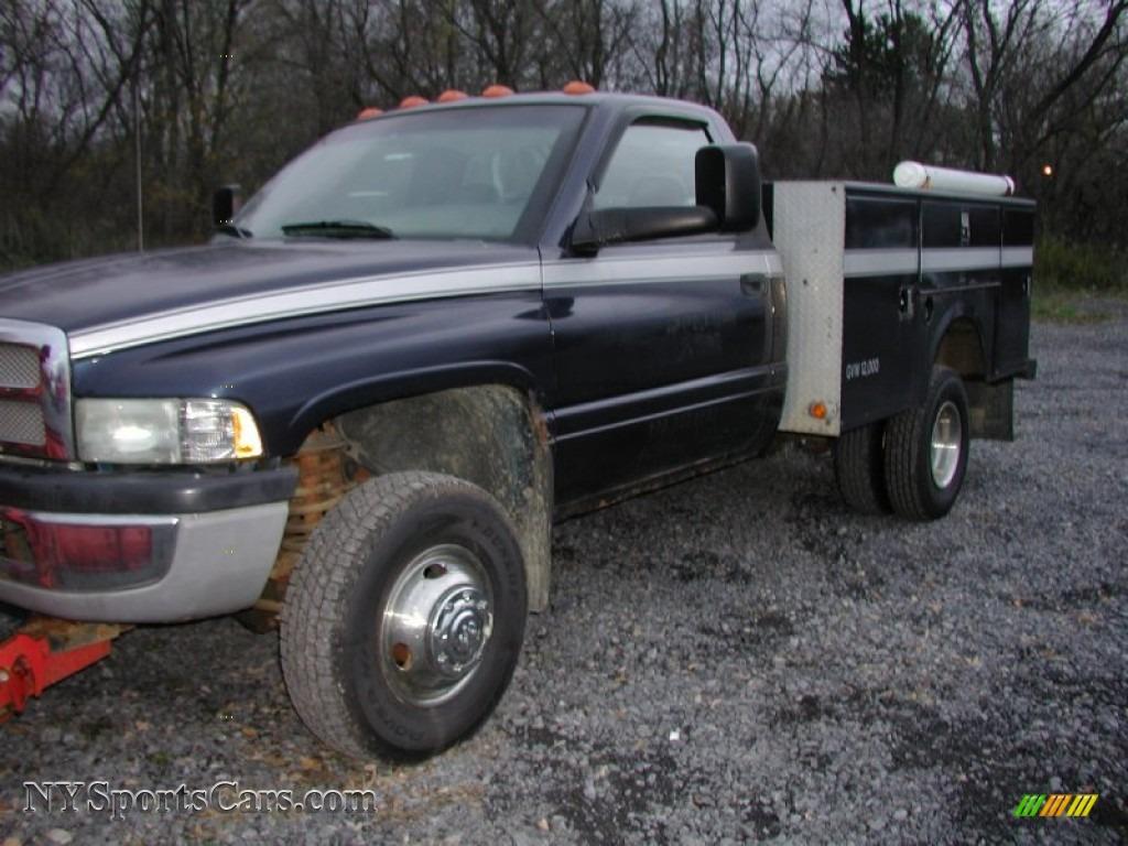 2002 dodge ram 3500 slt regular cab 4x4 dually plow truck. Black Bedroom Furniture Sets. Home Design Ideas