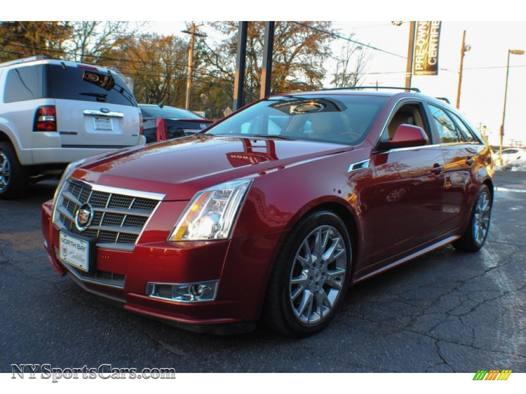2011 Cadillac Cts 4 3 6 Awd Sport Wagon In Crystal Red