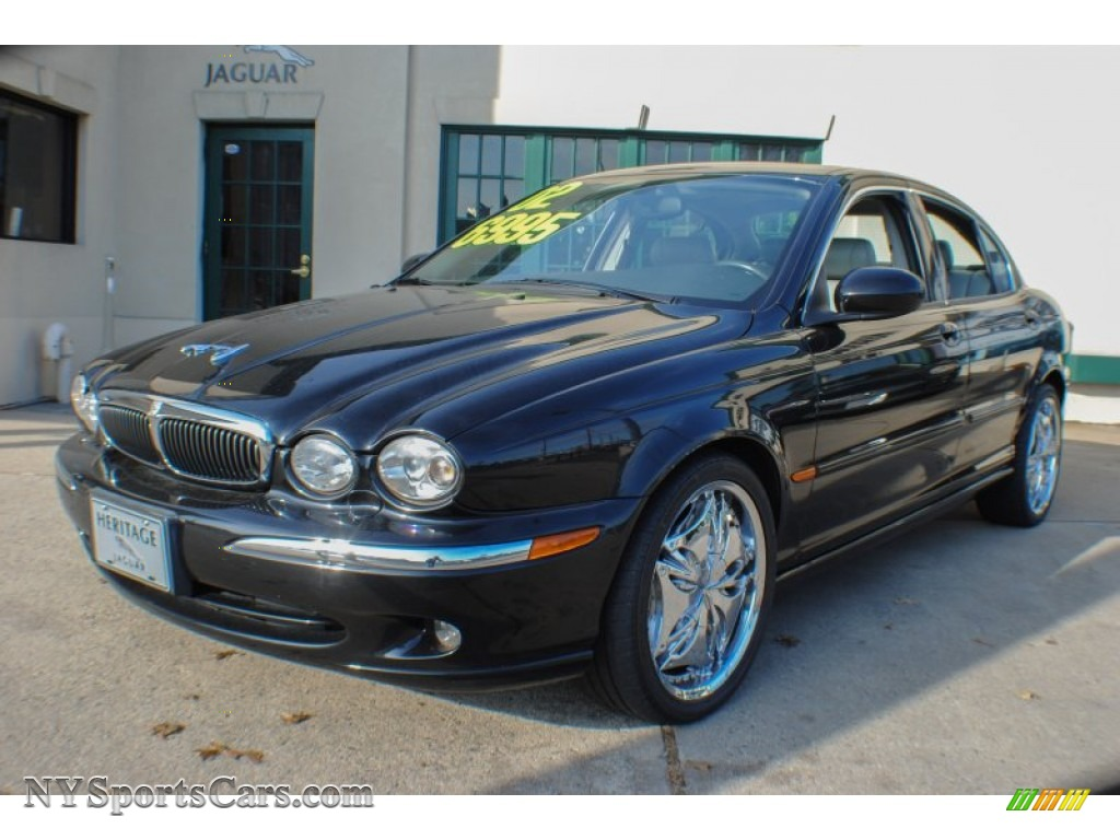 Anthracite metallic dove jaguar x type 2 5