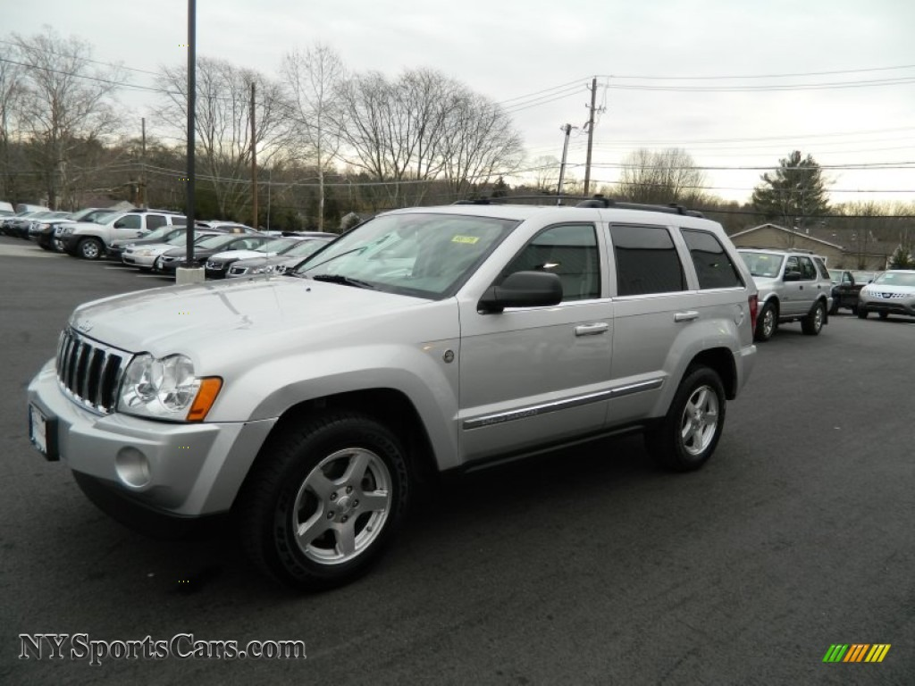 2005 jeep grand cherokee limited 4x4 in bright silver metallic. Black Bedroom Furniture Sets. Home Design Ideas