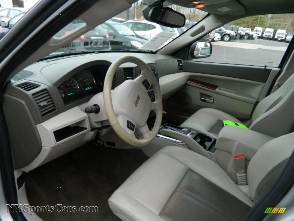 2005 Jeep Grand Cherokee Limited 4x4 In Bright Silver Metallic Photo 23 729984 Nysportscars