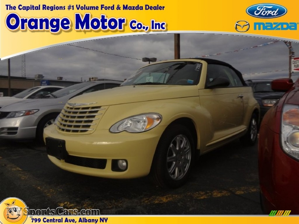 2007 chrysler pt cruiser touring convertible in pastel for Orange motors albany new york