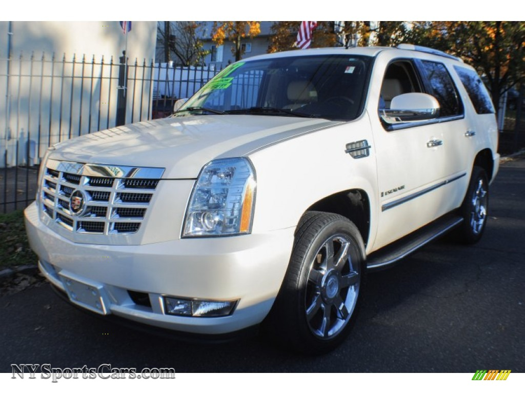 2007 cadillac escalade awd in white diamond 304954 nysportscars. Cars Review. Best American Auto & Cars Review