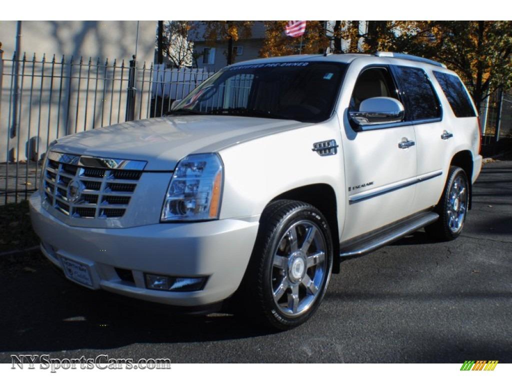 North Bay Cadillac >> 2008 Cadillac Escalade AWD in White Diamond - 254123 ...