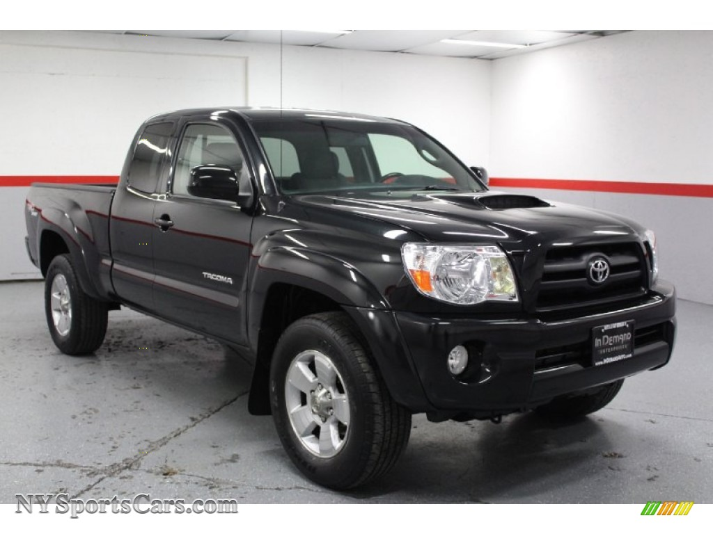 2005 toyota tacoma v6 trd sport access cab 4x4 in black sand pearl photo 2 029012. Black Bedroom Furniture Sets. Home Design Ideas