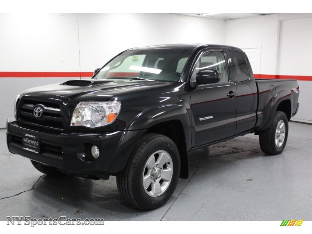 2005 toyota tacoma v6 trd sport access cab 4x4 in black sand pearl photo 6 029012. Black Bedroom Furniture Sets. Home Design Ideas