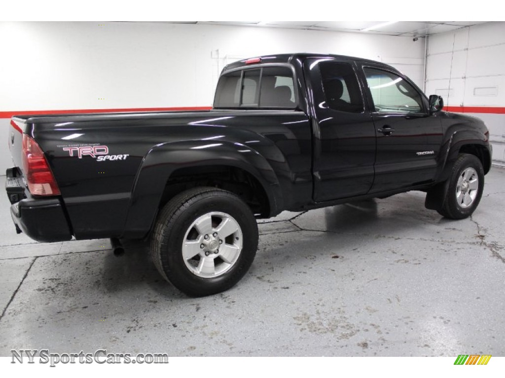 2005 toyota tacoma v6 trd sport access cab 4x4 in black sand pearl photo 16 029012. Black Bedroom Furniture Sets. Home Design Ideas